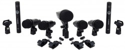 Kit De Microfones Bateria Akg Drum Set Session A VISTA 1.450,00
